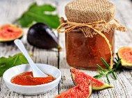 Сладко от смокини с мед стерилизирано в бурканчета (зимнина)